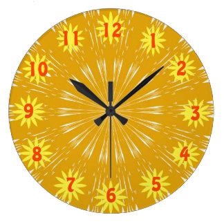Golden Sunshine Clock