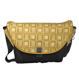 golden surface courier bag
