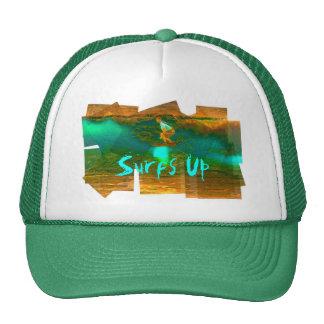 Golden Surfer Trucker Hat