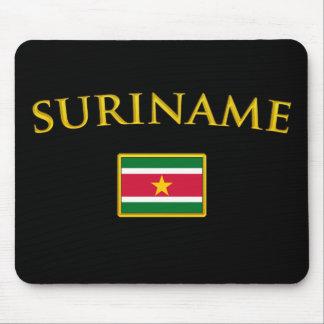 Golden Suriname Mouse Pad
