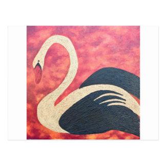 Golden Swan Postcard