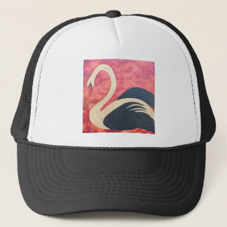 Golden Swan Trucker Hat
