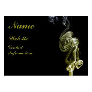 Golden Swirl Business Card