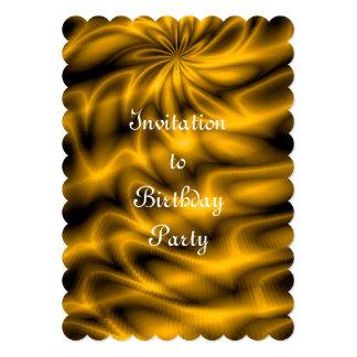 Golden Swirl Card