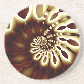 Golden Swirl Coaster