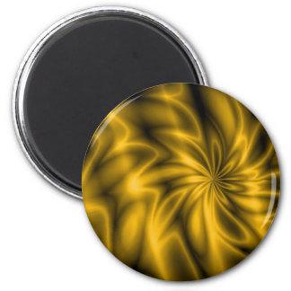 Golden Swirl Magnet