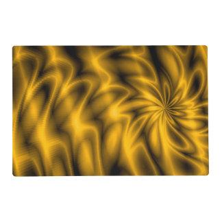 Golden Swirl Placemat