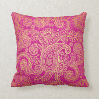 Golden Swirls American Mojo Pillow