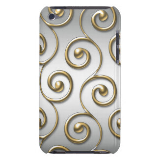 Golden Swirls iPod Touch 4G Case iPod Touch Case-Mate Case