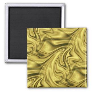 golden_swirlz 2 inch square magnet