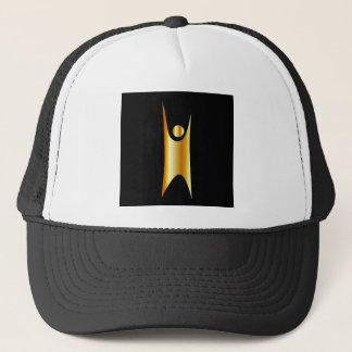 Golden symbol of Humanism Trucker Hat