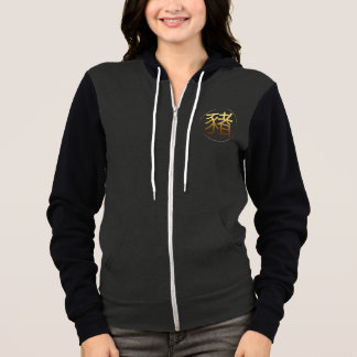Golden Symbol Pig Chinese New Year 2019 Hoodie