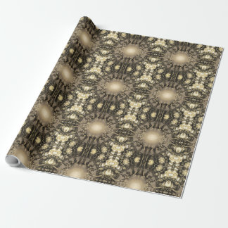 Golden Symmetry Wrapping Paper
