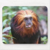 Golden Tamarin Monkey Mouse Pad