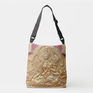 golden Tara Buddha Crossbody Bag