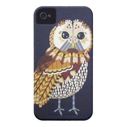 Golden Tawny Owl Phone case Case-Mate iPhone 4 Case