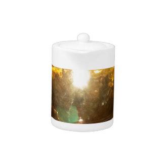 Golden tea Pot
