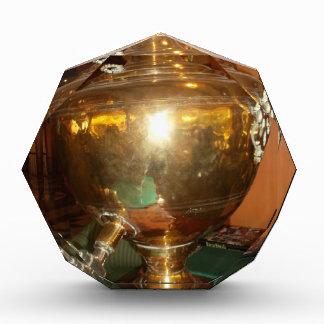 Golden tea Pot Acrylic Award