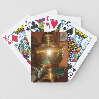 Golden tea Pot Bicycle Playing Cards
