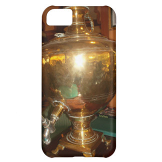 Golden tea Pot Cover For iPhone 5C