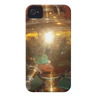 Golden tea Pot iPhone 4 Case-Mate Case