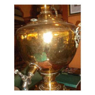 Golden tea Pot Letterhead