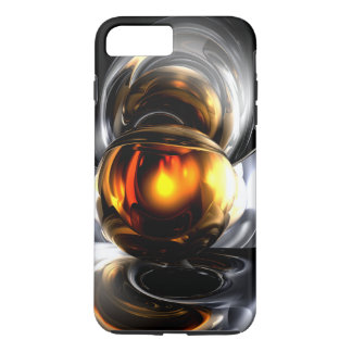 Golden Tears Abstract iPhone 7 Plus Case