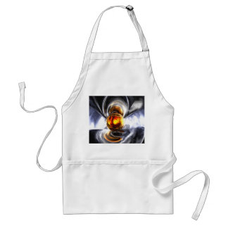 Golden Tears Pastel Abstract Adult Apron
