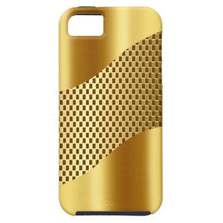 Golden Tech Mesh Chrome 2 iPhone SE/5/5s Case