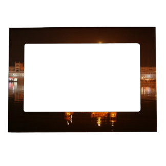Golden Temple Amritsar North India at Night Magnetic Frame