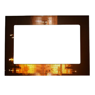 Golden Temple Amritsar North India at Night Magnetic Picture Frame