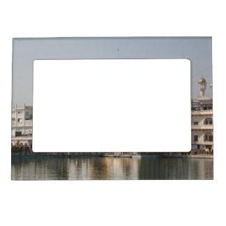 Golden Temple Harmandir Sahib Amritsar North India Magnetic Photo Frame