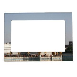 Golden Temple Harmandir Sahib Amritsar North India Magnetic Picture Frame