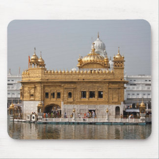Golden temple in Amritsar Mouse Pad