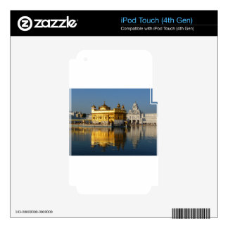 Golden Temple iPod Touch 4G Skin