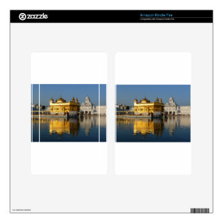 Golden Temple Skin For Kindle Fire