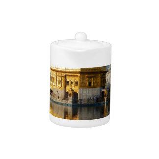 Golden Temple Teapot