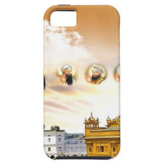 GOLDEN TEMPLE WITH THE SIKH GURUS iPhone SE/5/5s CASE