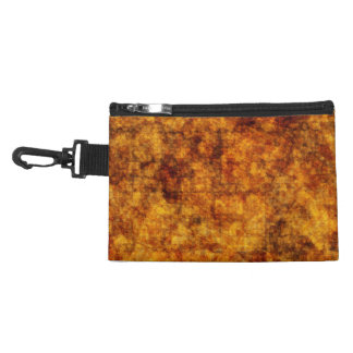 Golden Texture-look Abstract Clip-on Accessory Bag