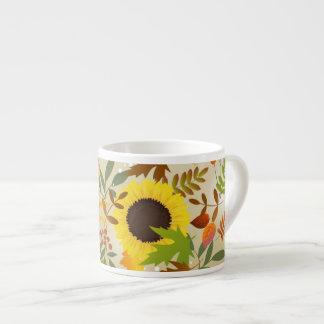 Golden Thanksgiving Espresso Cup