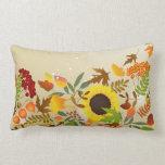 Golden Thanksgiving Lumbar Pillow