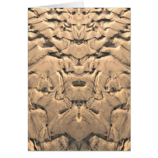 Golden Tidal Sands Card