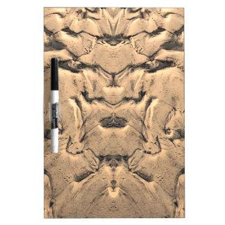 Golden Tidal Sands Dry Erase Board