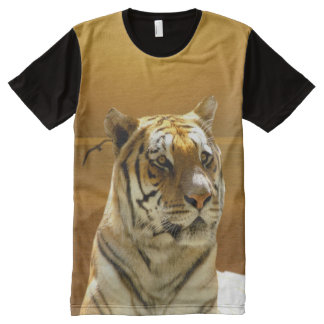 Golden Tiger All-Over-Print T-Shirt