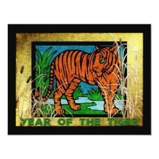 Golden Tiger Card