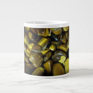 Golden Tiger Eye Stones Giant Coffee Mug