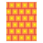 Golden tiles pattern flyers