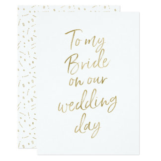 Our wedding gifts on zazzle golden quotto my bride on our wedding junglespirit Choice Image