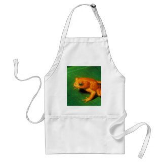 Golden Toad Adult Apron
