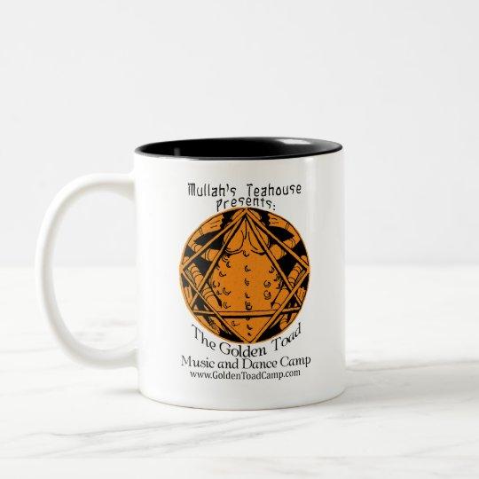 Golden Toad Camp mug